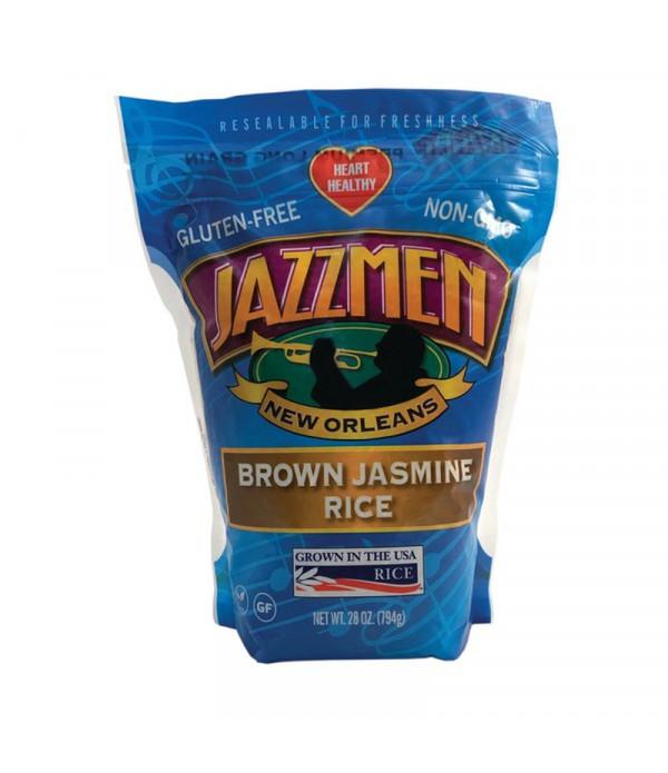 Jazzmen Brown Rice 28oz