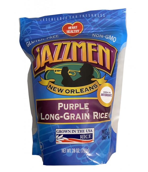 Jazzmen Purple Rice 28oz