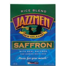 Jazzmen Saffron Rice 12oz